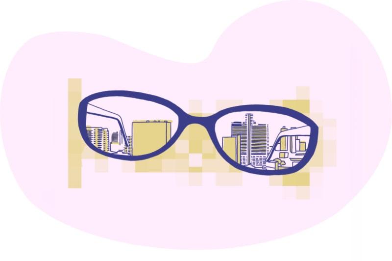 Clarity Through Glasses